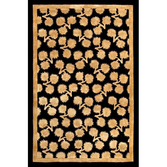 CACHAREL TUFTED 1015 POMPON CHARDON BLACK GOLD
