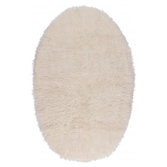 FLOKATI NATURAL WHITE – OVAL 1700gr