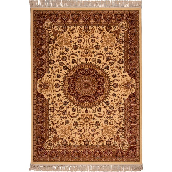 ISFAHAN 2879A-CREAM-RED